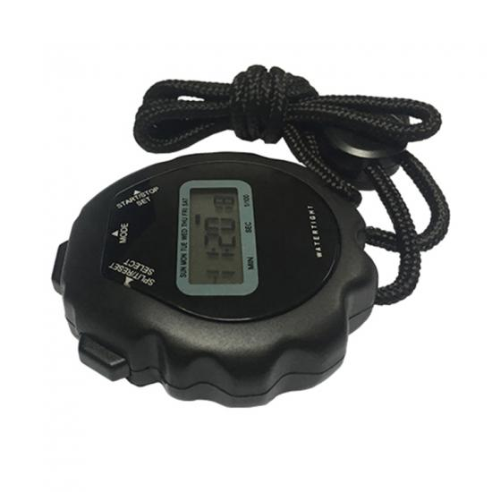 Quick delivery cheap countup plastic digital stopwatch timer
