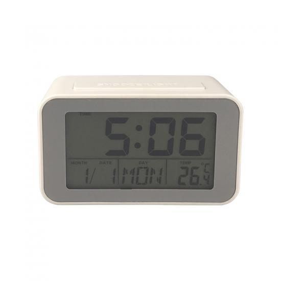 LCD backlight smart clock