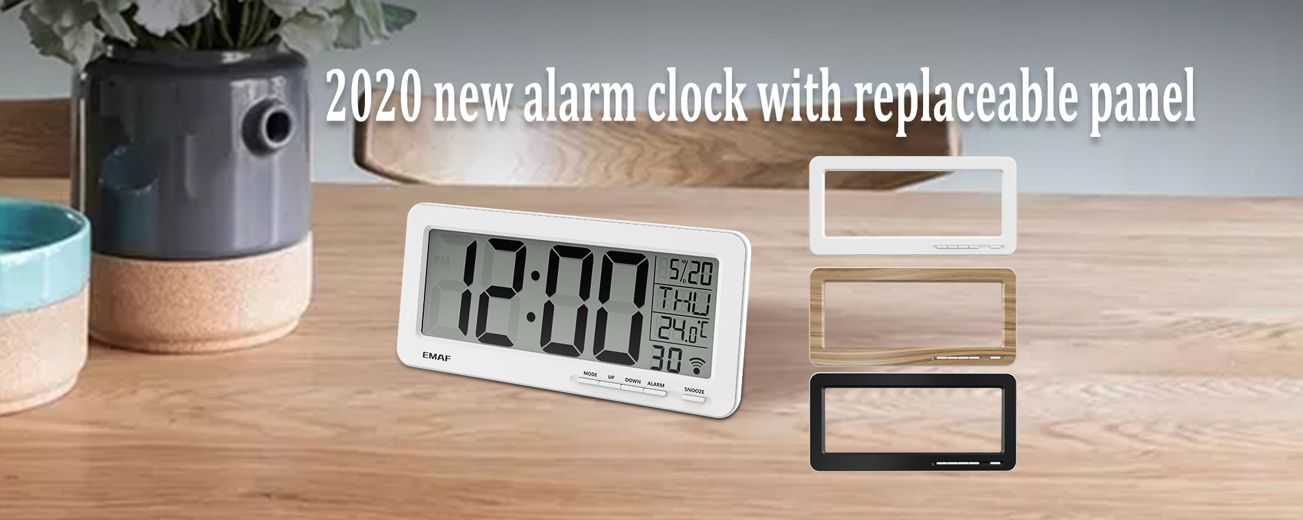 Multifunctional digital alarm clocks